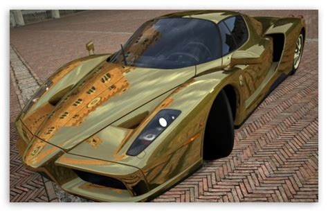 golden ferrari enzo gold ferrari wallpaper download image collections