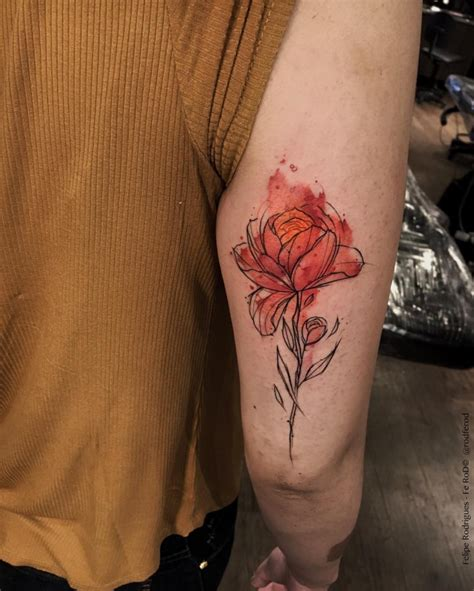watercolor tattoos fire watercolor pictures to pin on