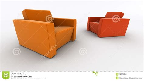 two armchairs two armchairs stock photo image 12325460