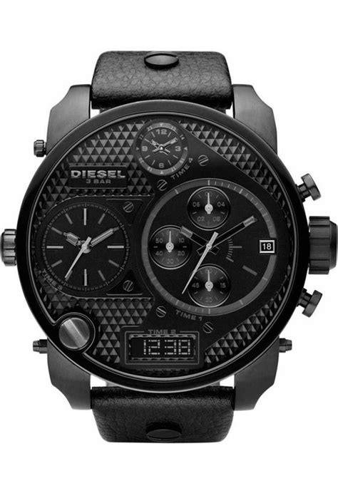 montre diesel big daddy rouge