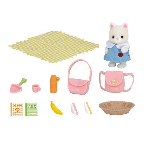 sylvanian families nursery picnic set 163 7 50 hamleys
