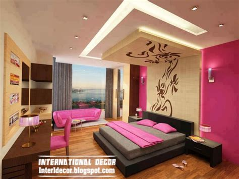 bedroom designs ideas with false ceiling and