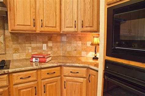 countertop colors for light oak cabinets pictures of light oak cabinets with granite countertops
