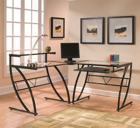 l shaped desk accessories use an office using black glass l shaped desk sets rs