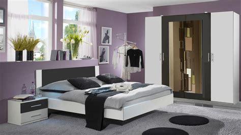schlafzimmer nora in wei 223 und anthrazit doppelbett - Schlafzimmer Anthrazit