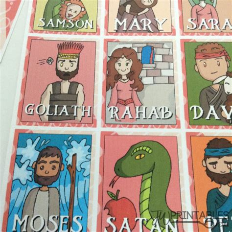 Bible Guess It bible character guess who jw printables