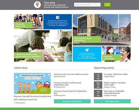 latest news section website design new council website on trial news centre official news
