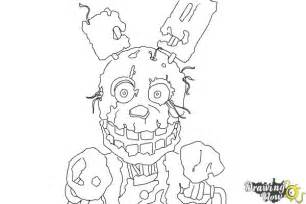 Free coloring pages of five nights at freddy