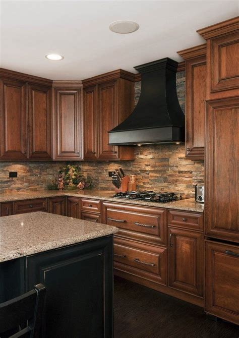 kitchen backspash tiles 1000 ideas about wood cabinets on pinterest natural