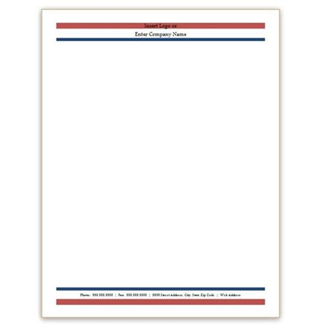 html letterhead template ms word letterhead templates free letter of recommendation
