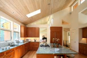 Lighting for vaulted ceilings with vaulted ceiling