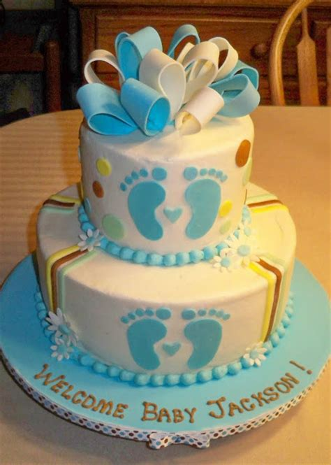 baby boy shower cakes pictures bobbie s cakes and cookies baby boy shower cakes