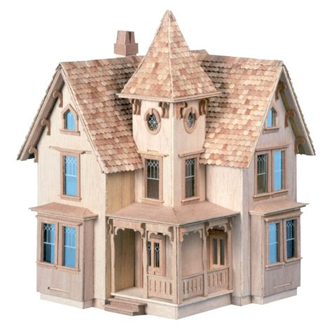 doll house scales skarla s variety shop deals 1 24 scale victorian dollhouse kit diy online