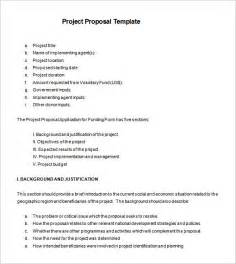 project proposals templates templates 140 free word pdf format