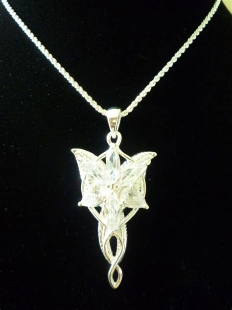 lord of the rings evenstar arwen pendant alloy prop replica