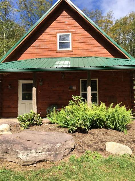 cabin in the woods near ricketts glen vrbo