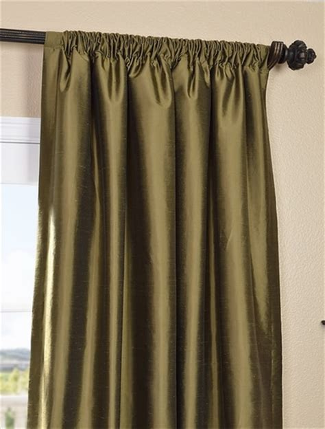thai silk drapes shop sage green thai silk curtains and drapes