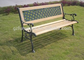 all weather garden bench all weather outdoor cast iron legs wooden slats for garden