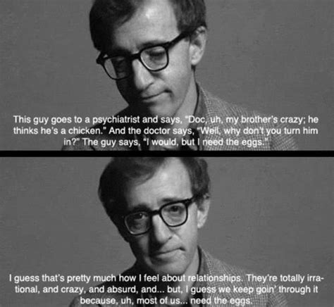film quotes woody allen pin by calimero bewitched on what i watched pinterest