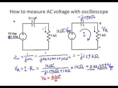 measure voltage across resistor using oscilloscope measuring voltage across resistor oscilloscope 28 images how to use an oscilloscope learn