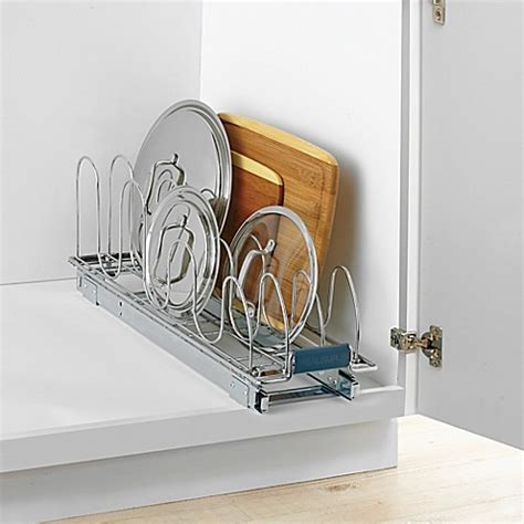 real simple bathroom buy real simple 174 roll out lid organizer from bed bath beyond