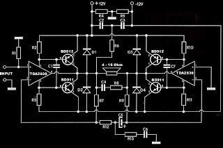 rodjoelgroup tda subwoofer amplifier circuit tda