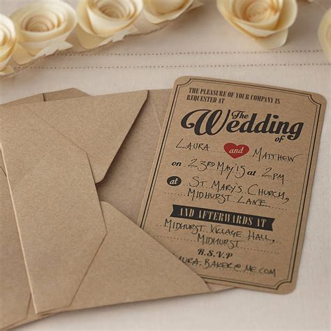 not on the high wedding invitations uk must shabby chic wedding invitations hitched co uk