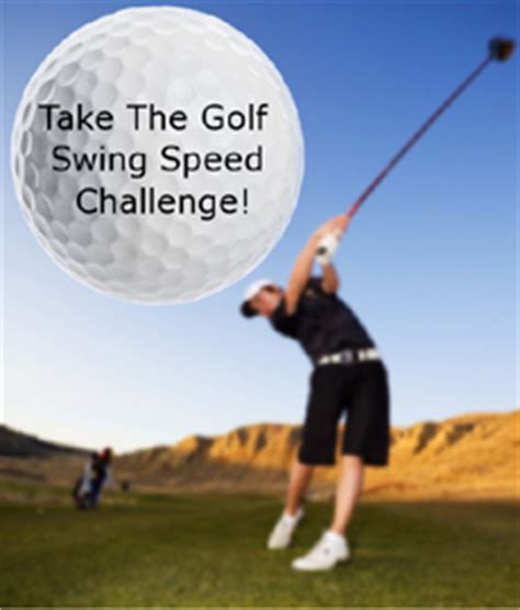 swing speed vs ball speed affiliate tools the golf swing speed challenge