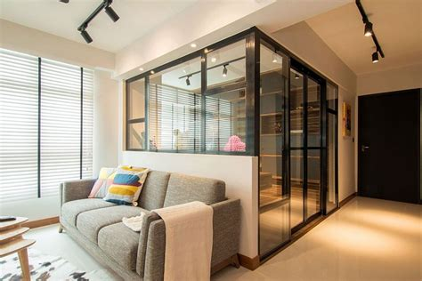 interior glass walls for homes 7227 home in singapore space savvy interior laced with
