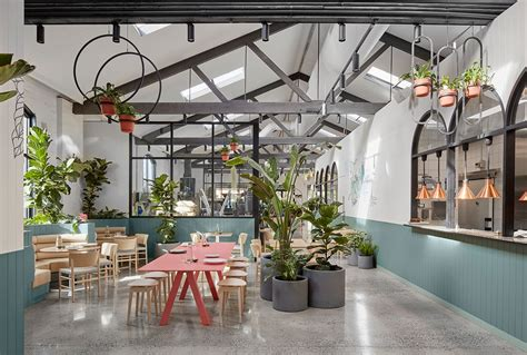 Botanical Gardens Cafe Melbourne Au79 Caf 233 In Abbotsford Melbourne By Mim Design Hospitality Melbourne And Contemporary