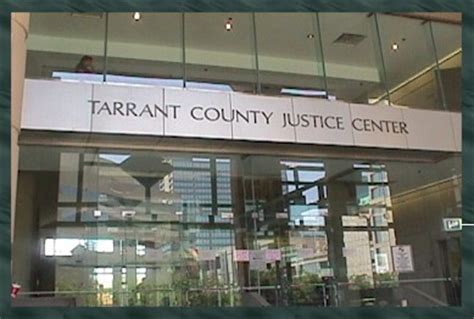 Tarrant County Criminal Court Records Criminal Courts