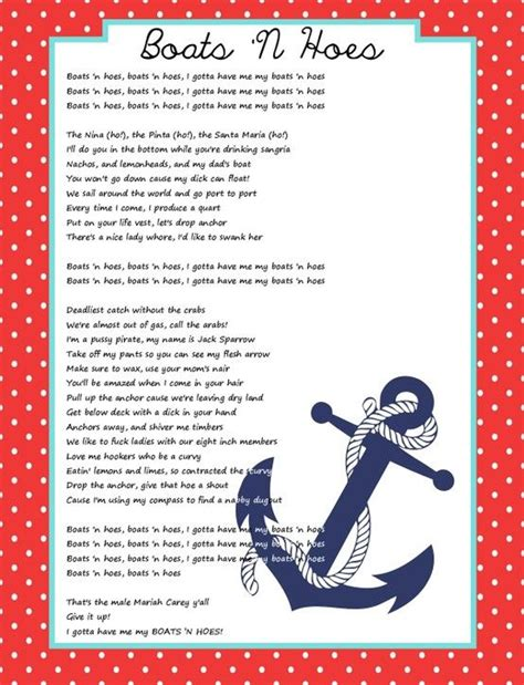 boats and hoes lyrics boats n hoes lyrics boats n hoes bachelorette party
