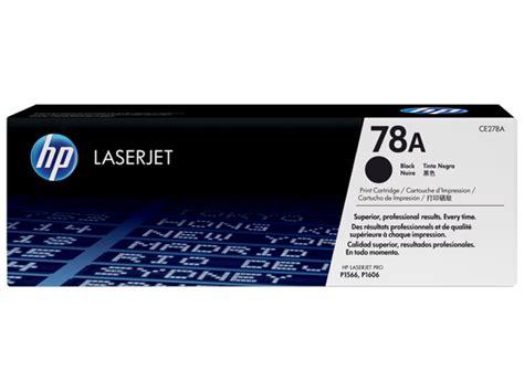 Toner Hp Laserjet 78 A cartucho de t 243 ner original laserjet hp 78a negro ce278a