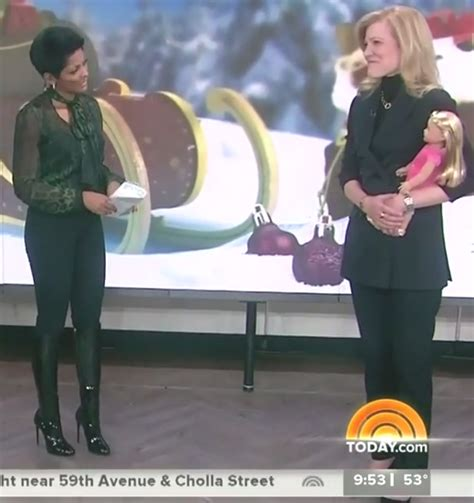 tamron hall thigh high boots posted by barrybrite at 2 07 pm