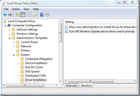 enable or disable automatic driver updates on windows 10 disable windows update device driver search prompt in