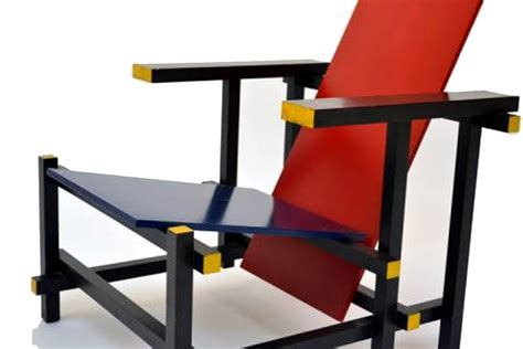 red and blue armchair armchair red and blue gerrit rietveld cassina modernism