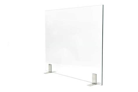 elite glass free standing fireplace screen ams