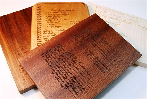recipe engraved cutting board recipe engraved cutting board home