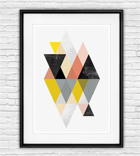 abstract poster scandinavian print mid abstract print geometric scandinavian print