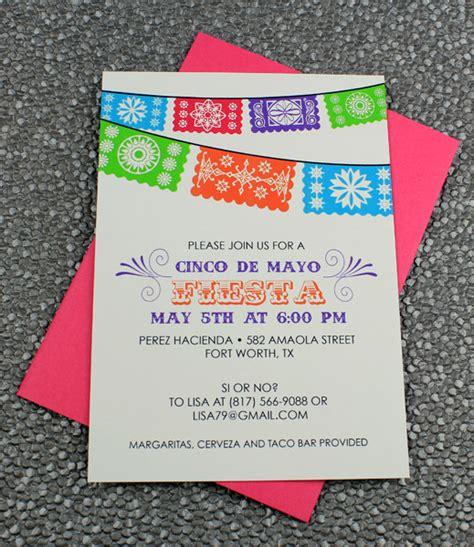 cinco de mayo invitation template fiesta banner