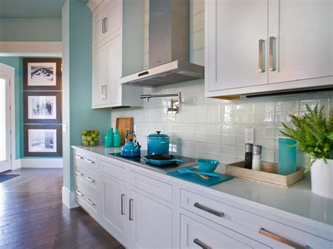 Backsplash Kitchen Glass Tile glass tile backsplash ideas pictures amp tips from hgtv hgtv
