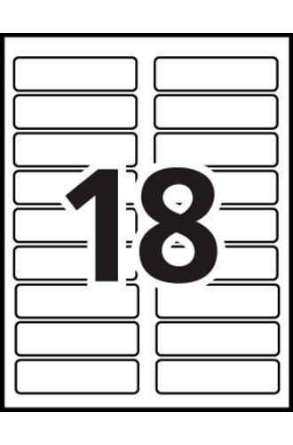 Avery 174 35026 Template Avery School Labels Template