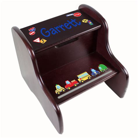 step stool for truck personalized cars trucks transportation step stool by