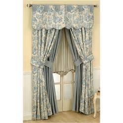 Waverly Curtains Shop Waverly Rustic 84 In L Lake Rod Pocket Curtain