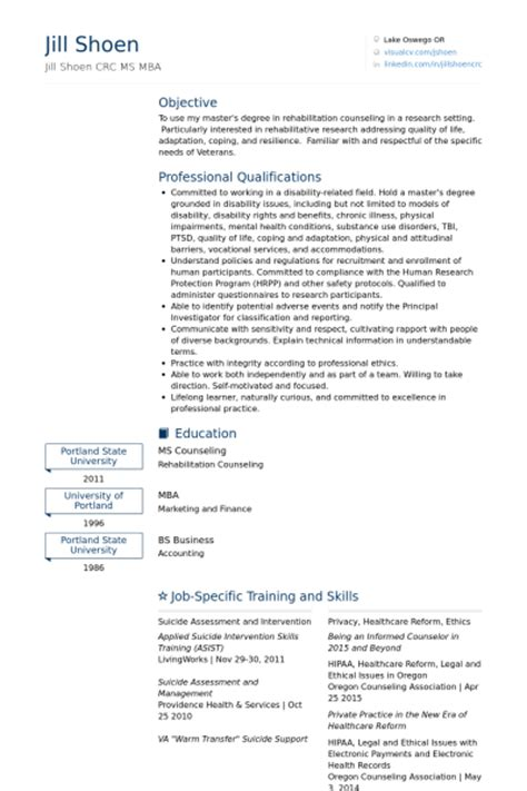 Resume For Graduate School Counseling Internship Resume Sles Visualcv Resume Sles Database