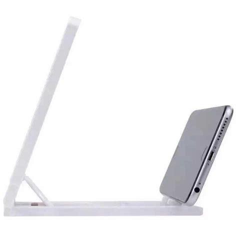 Dijamin 3d Screen Enlarge Kaca Pembesar Smart Phone stand kaca pembesar 3d magnifier untuk smartphone white jakartanotebook