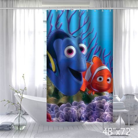 finding nemo shower curtain finding nemo shower curtain set curtain menzilperde net