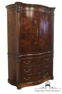 Clothes Armoires by Henredon Bow Front Mahogany 59 Clothing Armoire