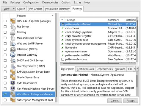 repository pattern c sle suse doc administration guide setting up sfcb