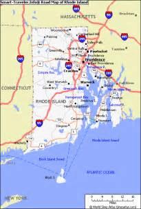 map usa rhode island rhode island physical map